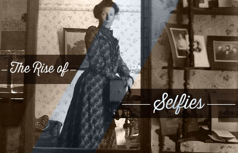 The history of Selfies - #infographic