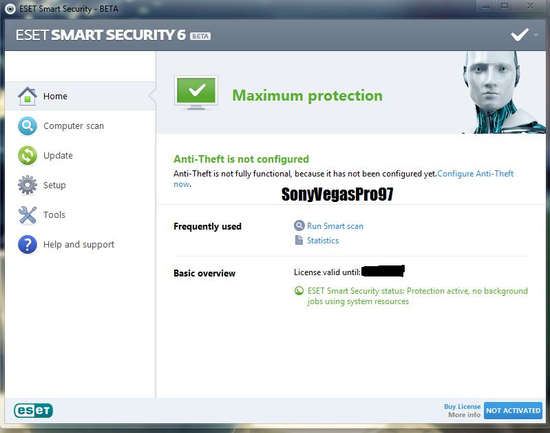 Nod32 Antivirus 3.0.290.0 Beta Serial