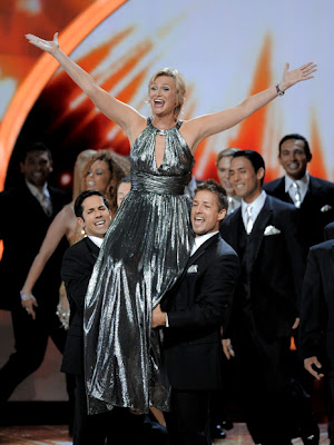 Jane Lynch no Emmy 2011
