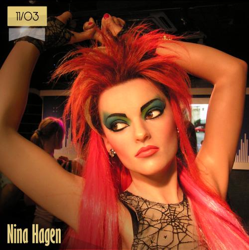 11 de marzo | Nina Hagen - @NinaHagenoficia | Info + vídeos