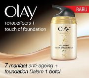 Beauty Talks Olay Total Effect Touch Of Foundation Spf 15