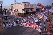 Ayotzinapa vibra en Los Cabos