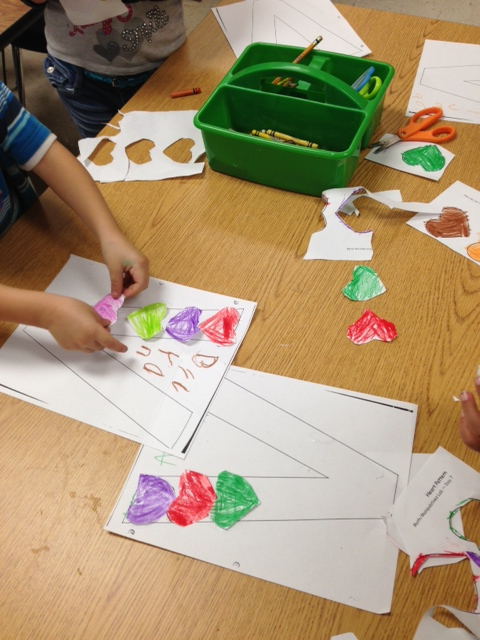 Kindergarten and Mooneyisms: Letter V Activities - and Valentines Day!