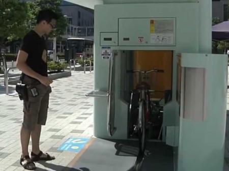 parking subterraneo bicicletas