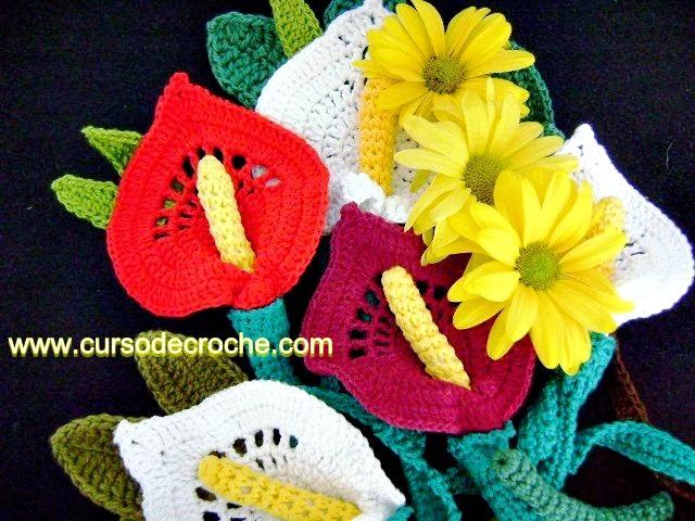 flores em croche cinco volumes dvd da coleção aprendi e ensinei com edinir-croche video-aulas blog loja frete gratis
