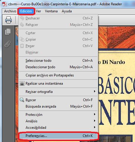 AYTUTO: Abrir siempre los PDF en vista página completa con ADOBE ...