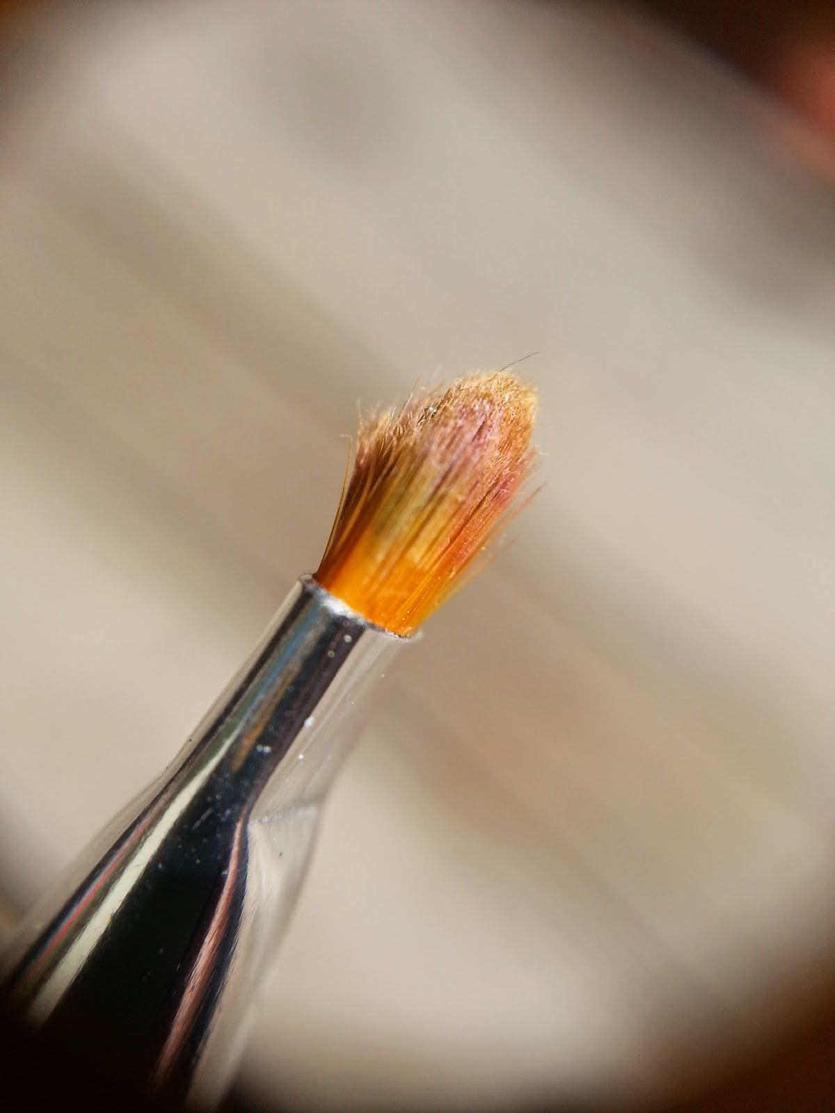 LacqueredMama: Jolie Brush vs Elf Cosmetics Brush (for nail cleanup)