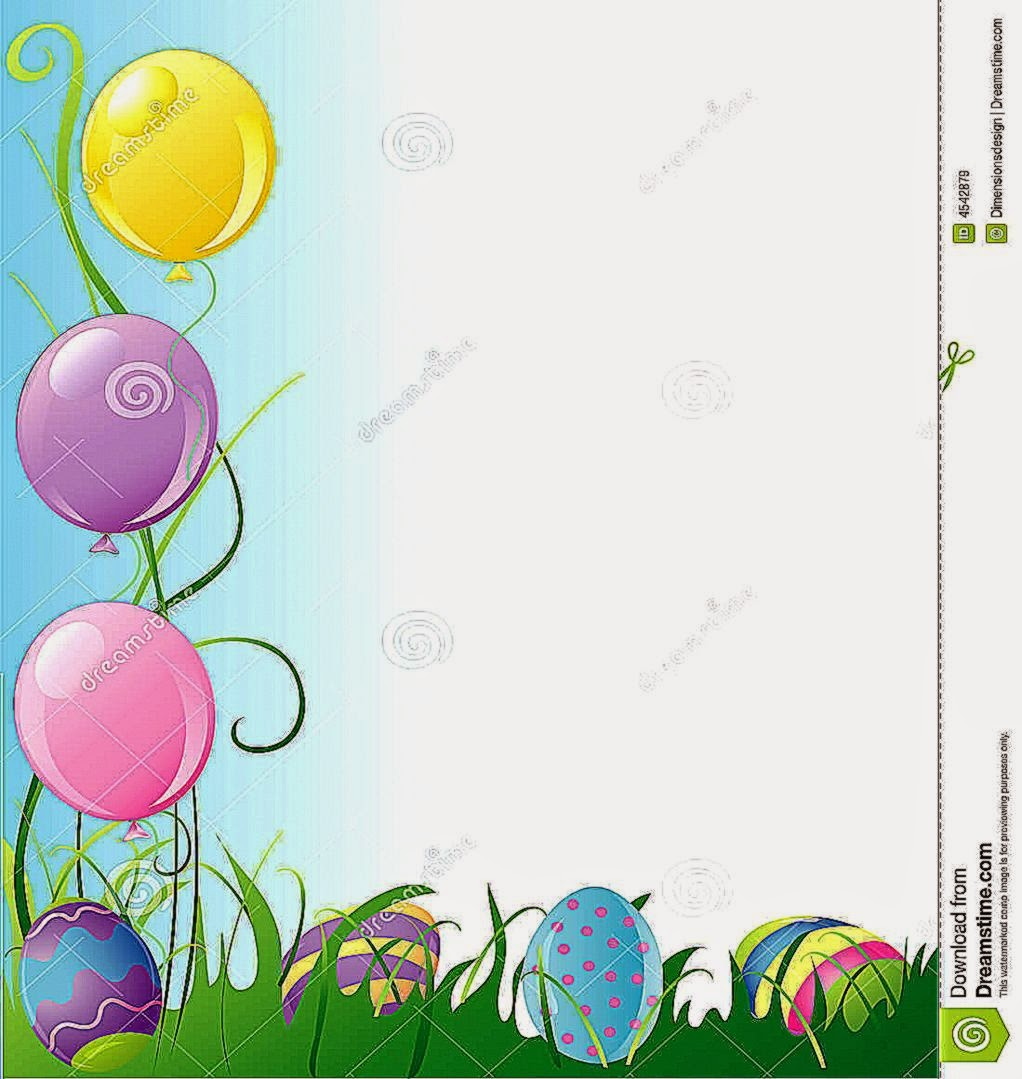 Easter Party Border Royalty Free Stock Images   Image 4542879