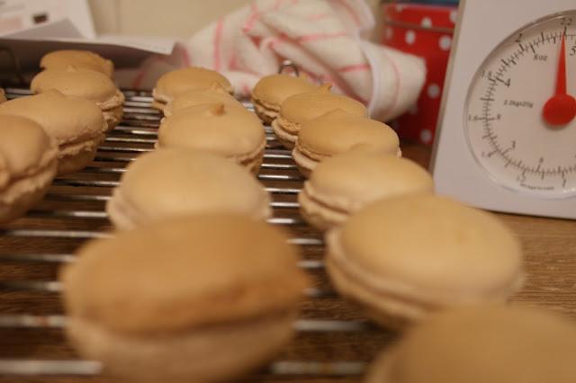 cooking macaroons
