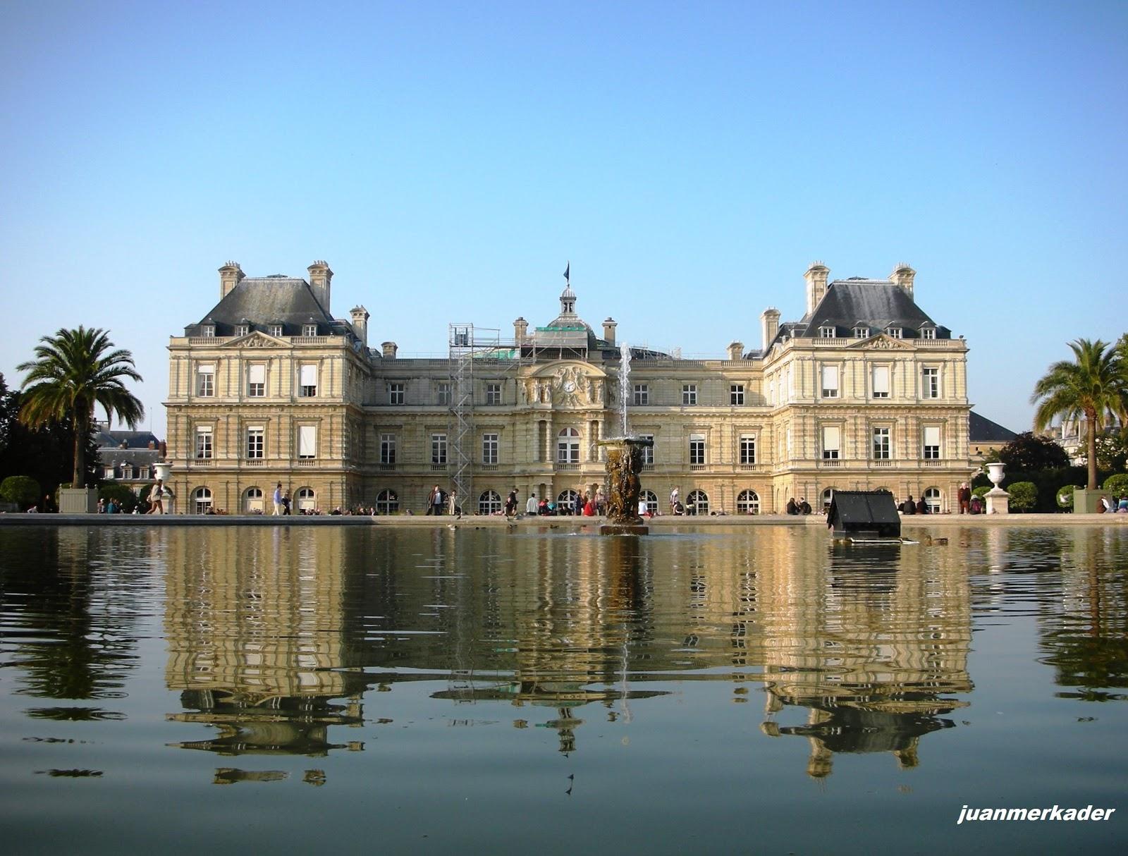 Luxemburgo for Jardines de luxemburgo paris