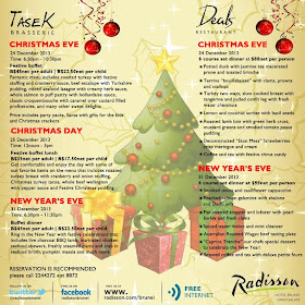 Radisson Christmas and New Year Deals! Click on the image for more information