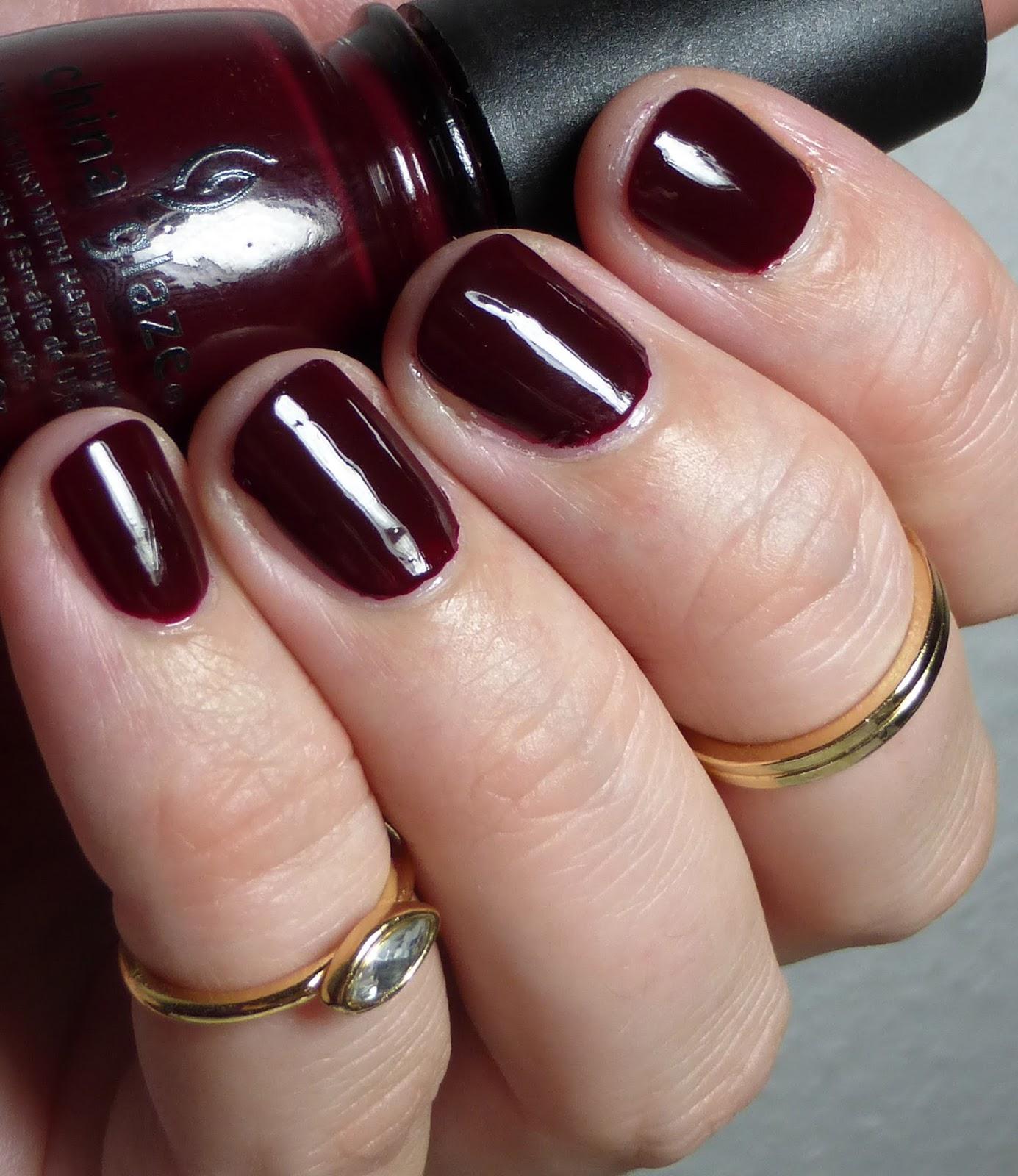 lackverliebt lacke in farbe und bunt china glaze velvet bow. Black Bedroom Furniture Sets. Home Design Ideas