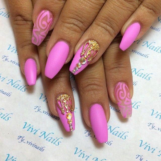 Pink Nail Designs Ideas