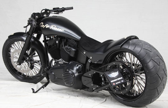 Custom Harley Crossbones