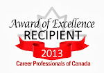 Career Professionals of Canada Award of Excellence Winner 2013