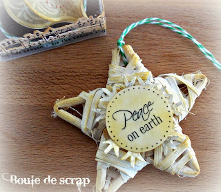 SRM Stickers Blog - Christmas Ornaments by Angélique - #christmas #ornaments #stickers #fancy #twine #clear #boxes #gift
