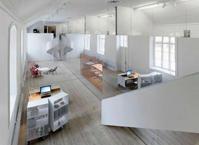 gambar desain ruang kantor minimalis 1