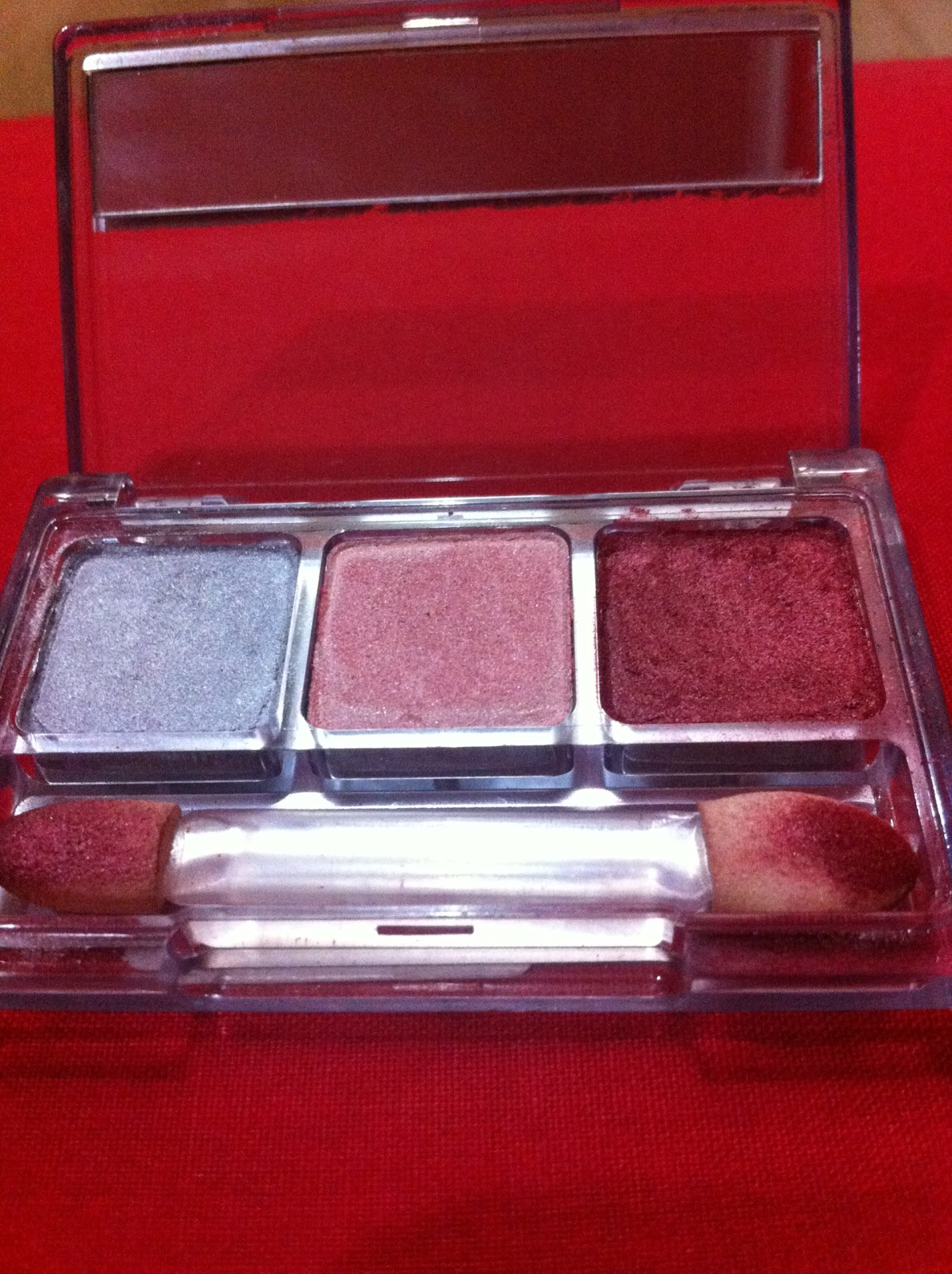 Next Is PAC Red Eyeshadow