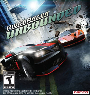 Ridge Racer Unbounded Full RePack cover