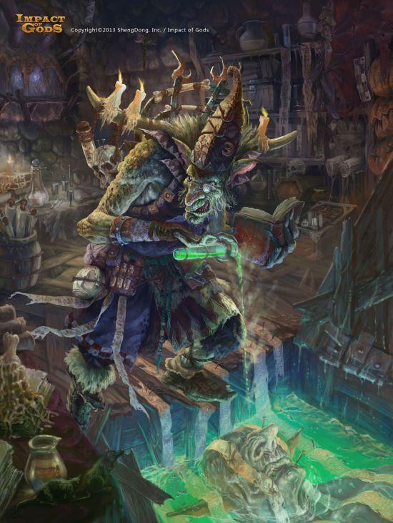 Jay Li twoface ilustrações fantasia ficção games
