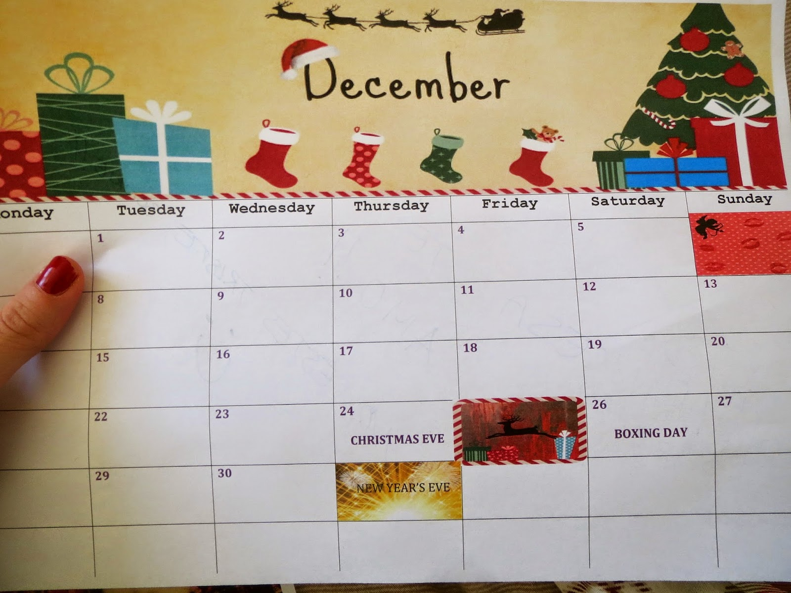 Make a fast friend diy c mo hacer un calendario - Ideas para hacer un calendario ...