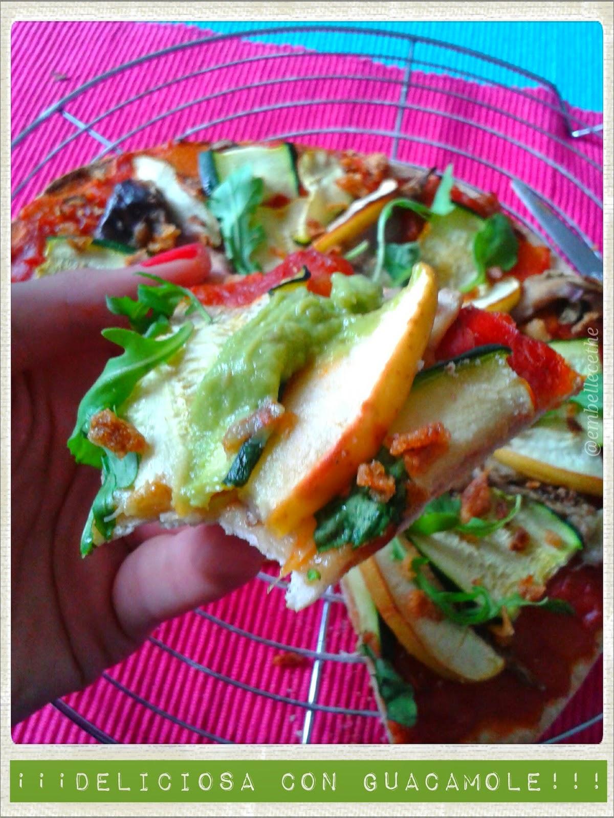 #vegano #pizzavegana