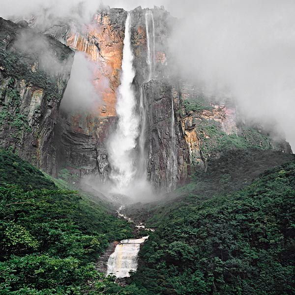 ANGEL WATER-FALLS, VENEZUELA