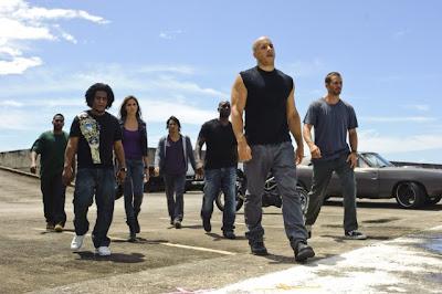 Vin Diesel gang in the movie Fast Five
