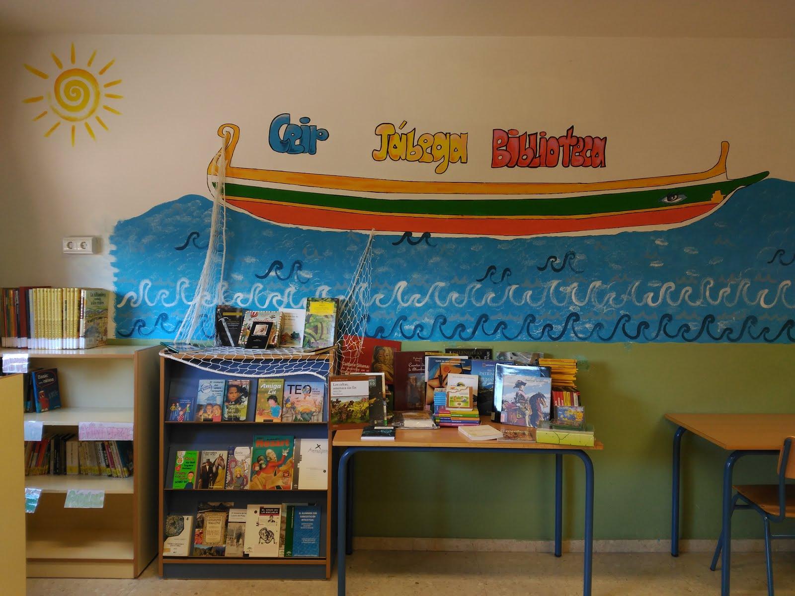 Biblioteca escolar La Jábega de colores. CEIP JÁBEGA