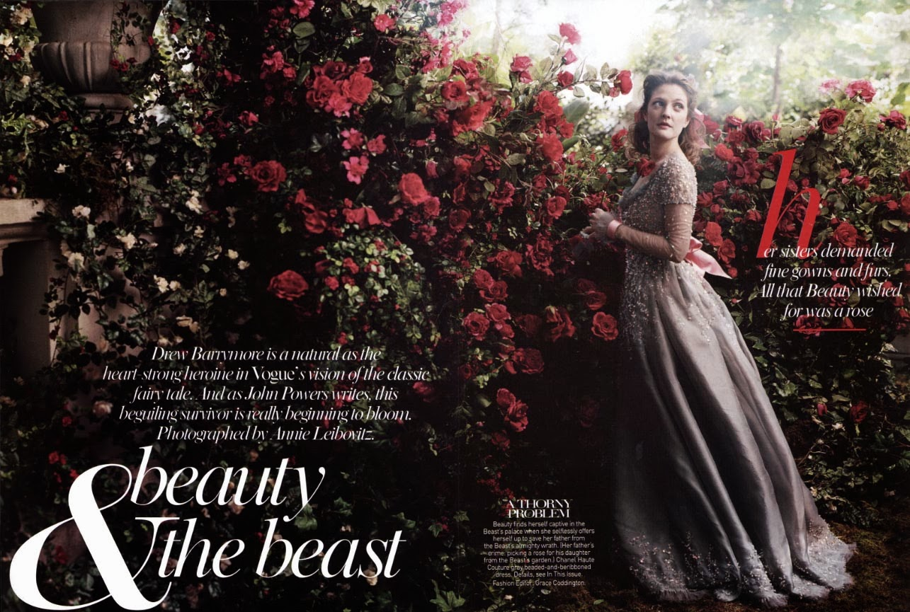 Drew Barrymore Beauty and the Beast animatedfilmreviews.filminspector.com