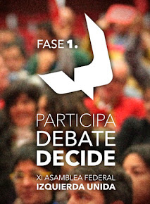 Asamblea de IULV-CA de Málaga ciudad