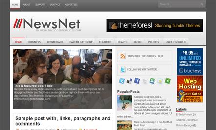 newsnet-blogger-template