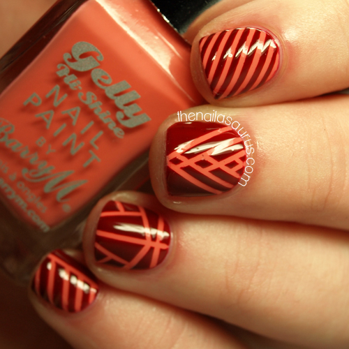 Snippet: Coral Stripes