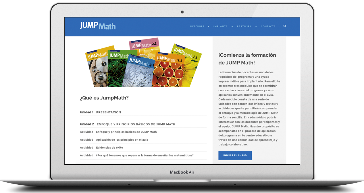 INNOVACIÓN EDUCATIVA. JUMP MATH