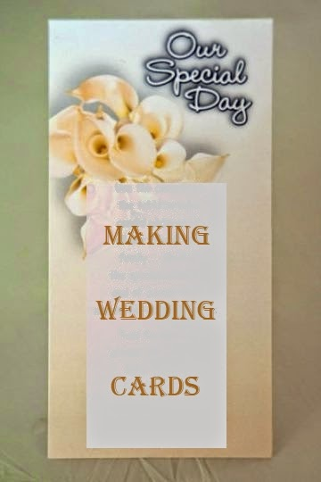 Making Wedding Cards