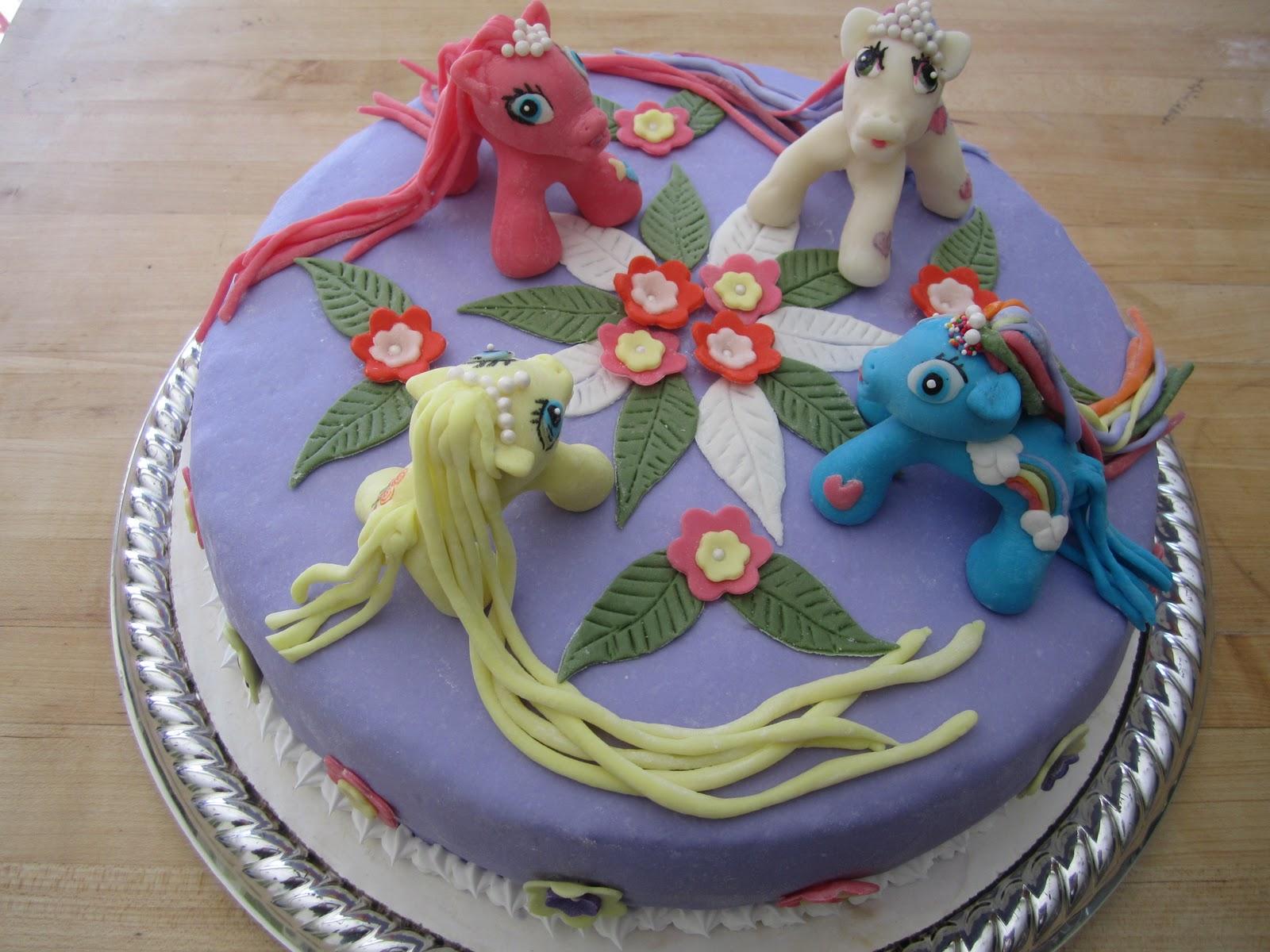MY SPECIAL CAKES- www.yourcakery.com: My Little Pony Birthday Cake