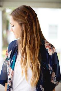 Gaya rambut air terjun