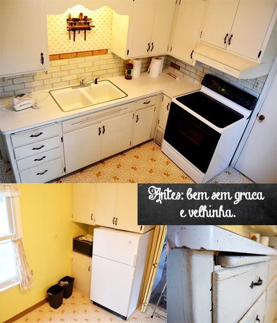 Lição de hoje: reforma na cozinha