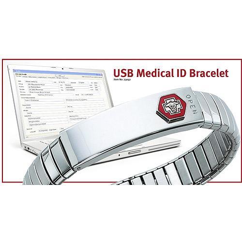 Medical Alert Bracelet Usb7