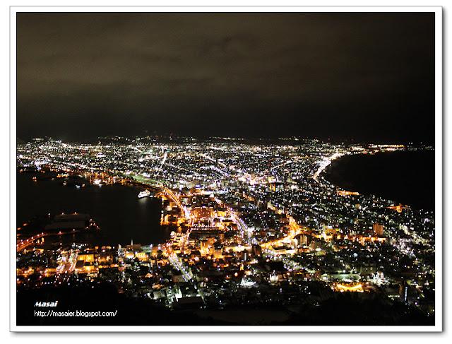 北海道函館百萬夜景