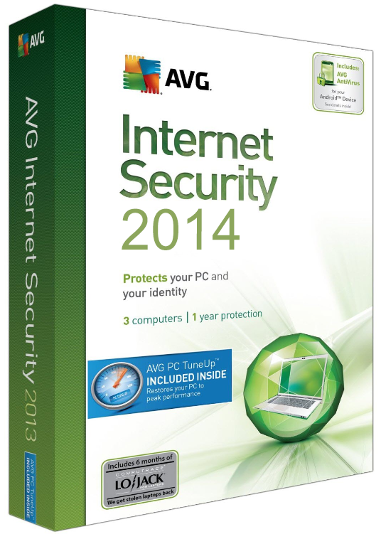 AVG Internet Security 2014 build 4016 + Ativação AVG Internet Security 2014