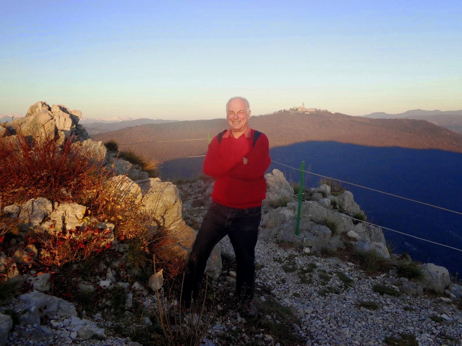 """Centenario della Grande Guerra"" - terza tappa: 1° marzo 2015 -  monte Podgora e monte Sabotino"