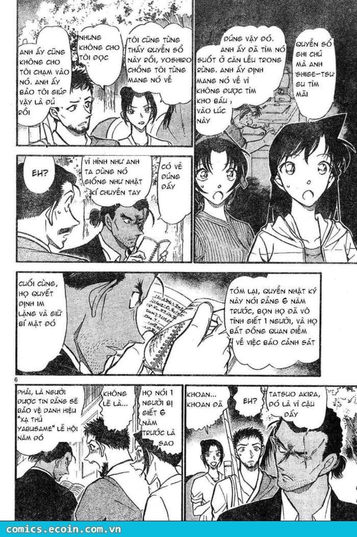 Detective Conan - Thám Tử Lừng Danh Conan chap 617 page 6 - IZTruyenTranh.com