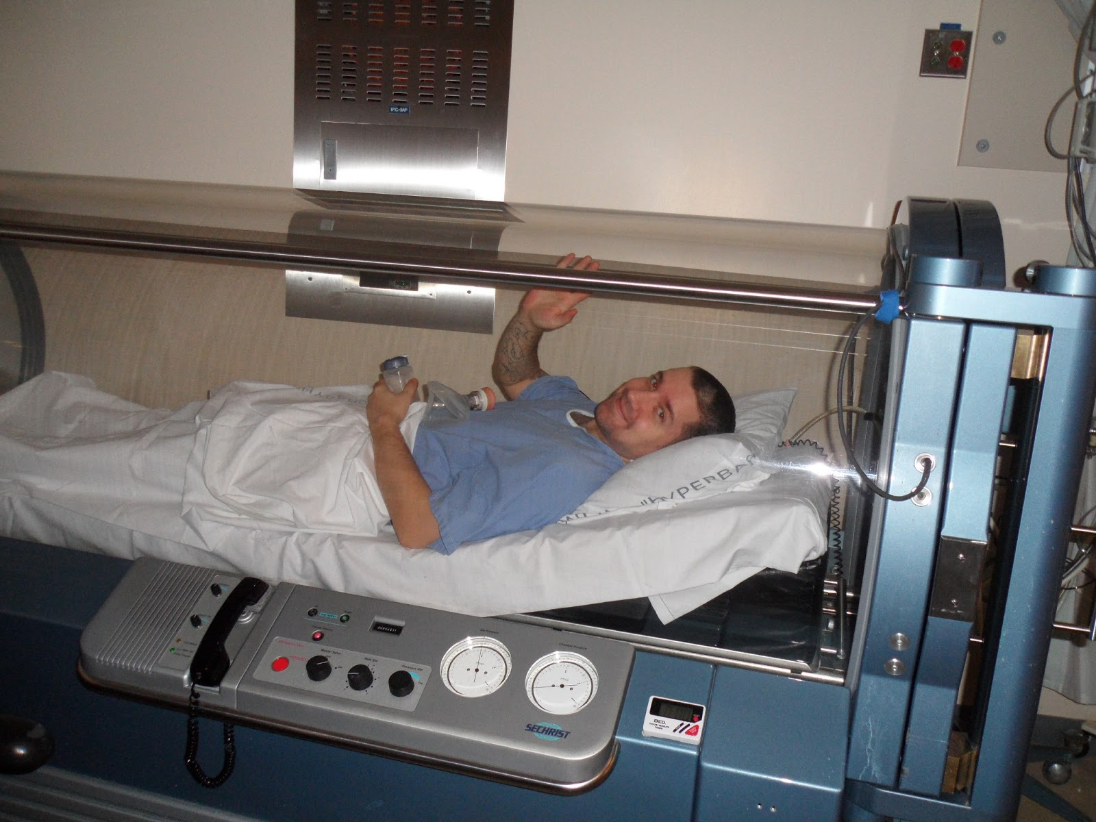 My chronic illness journal hyperbaric chamber therapy for Table 6 hyperbaric treatment