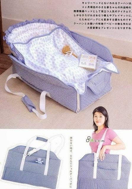 Bolsa tecido bebê