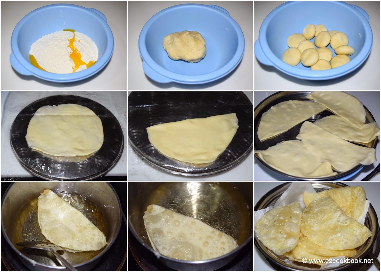 paal poli | paala puri recipe