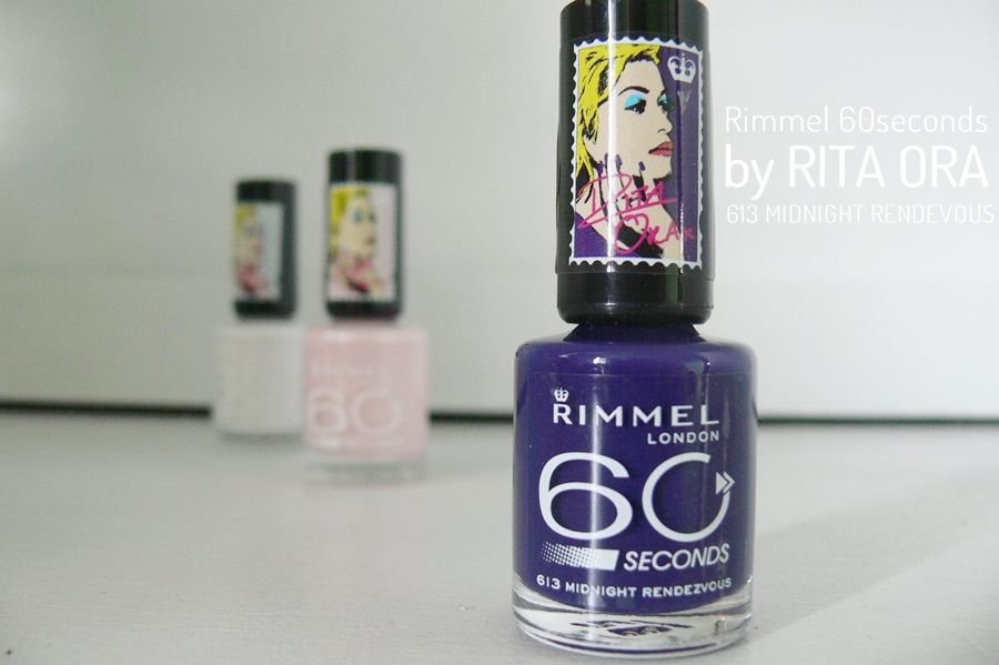 Rimmel 60seconds by Rita Ora Midnigght Rendezvous