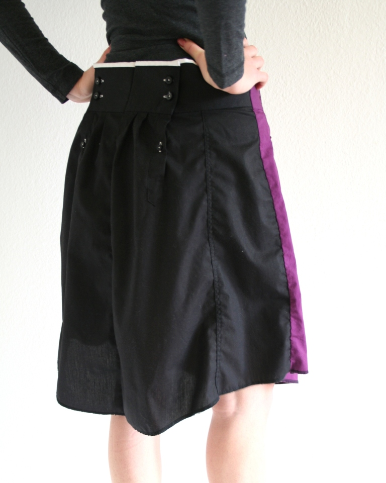 Bartinki Shirts into skirts