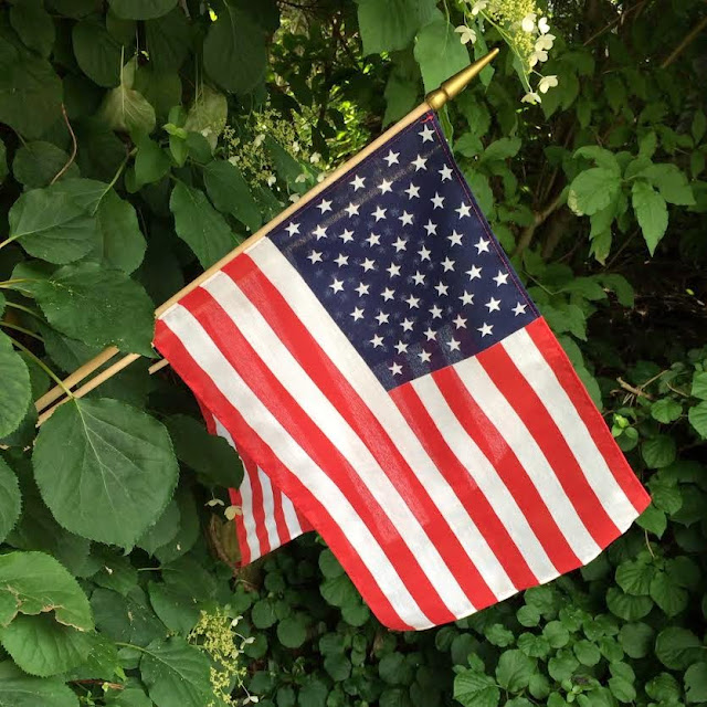 American flag in Maine   Beautifully Seaside
