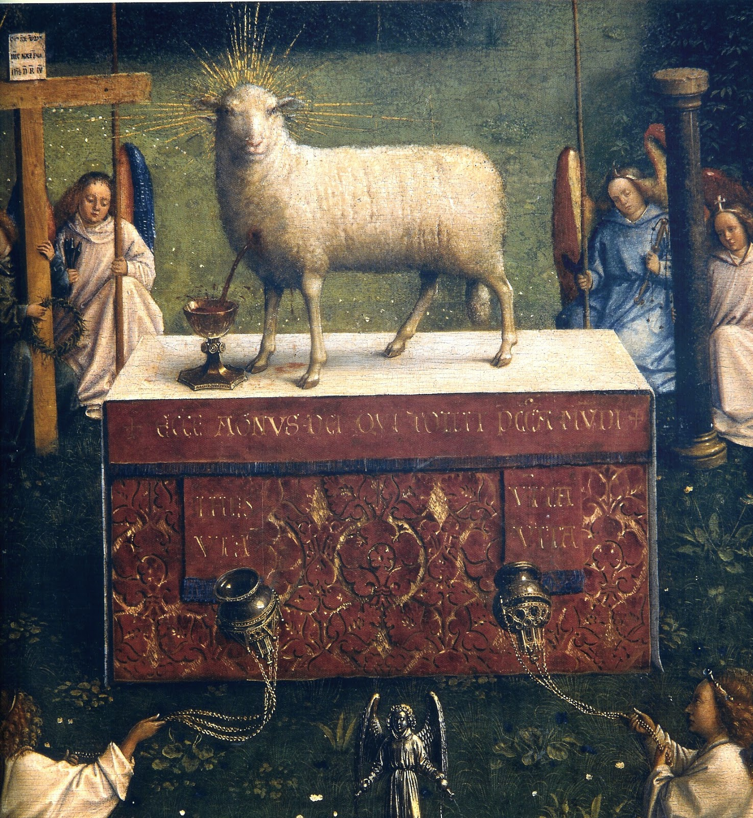 Ghent Altarpiece Lamb Daily Devotional on Fa...